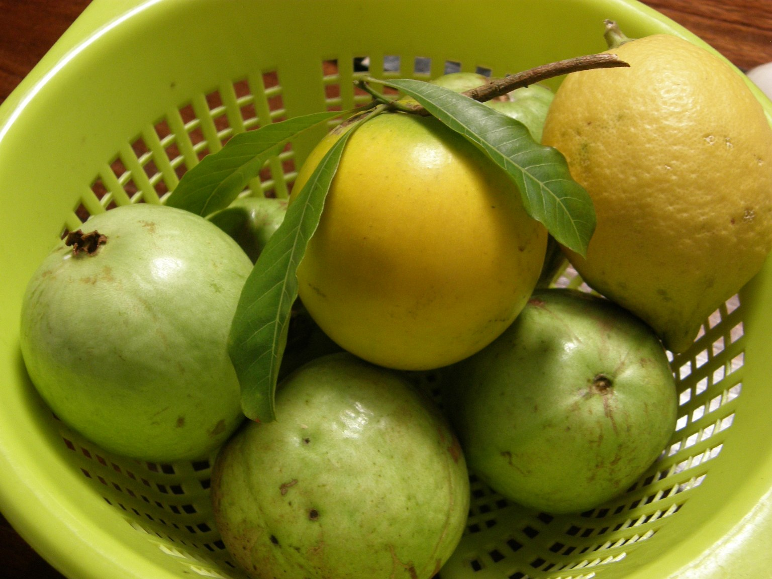 Abiu, Lemon & Guavas