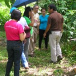 Visit from ONOPRA & provincial agri representatives (Soils Lab)