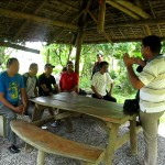 Discussing permaculture